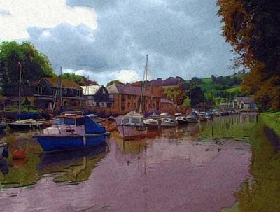 Dart Digital Art - The River by Gra Howard