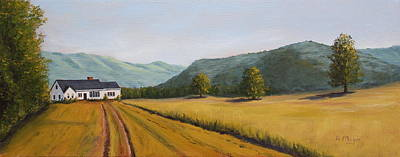 Painting - The Road Home by Alan Mager