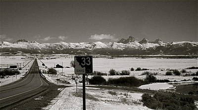 Art Print featuring the photograph The Road Home by Eric Tressler