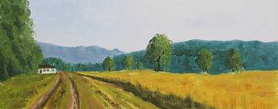 Painting - The Road Home - Study by Alan Mager