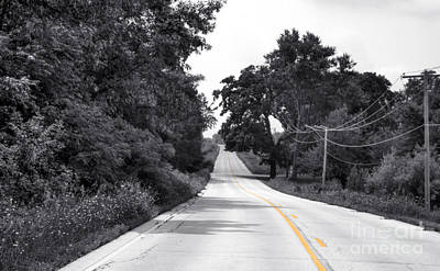 Photograph - The Road Leans Left - Me Too by David Bearden