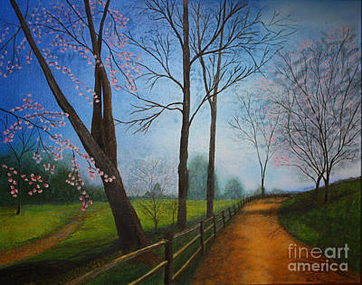 Painting - The Road Less Traveled by Terri Maddin-Miller