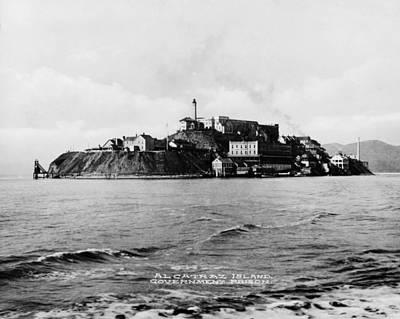 Alcatraz Photograph - The Rock United States Penitentiary by Everett