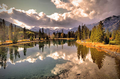 Photograph - The Rockies And The Clouds by Tara Turner