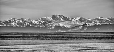Photograph - The Rockies by Heather Applegate