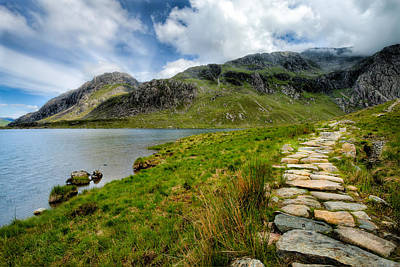 The Rocky Path Print by Adrian Evans