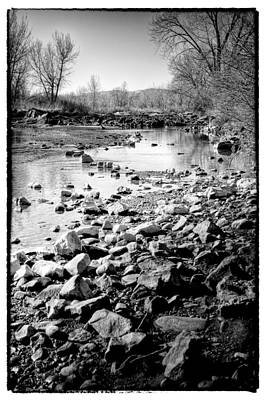 The Rocky South Platte River Art Print