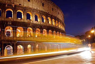 Jeka World Photograph - The Roman Colosseum by Jeff Rose