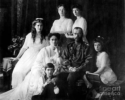 The Romanovs, Last Royal Family Art Print