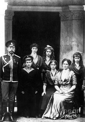 Heredity Photograph - The Romanovs by Science Source