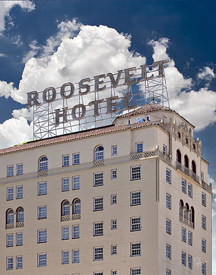 Photograph - The Roosevelt Hotel by Endre Balogh