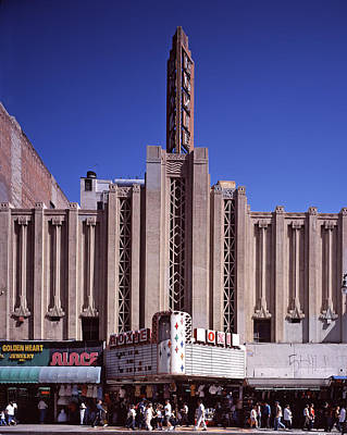 The Roxie Theater, Built By John M Art Print by Everett