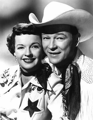 Publicity Shot Photograph - The Roy Rogers Show, Roy Rogers, Dale by Everett