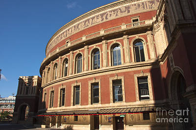 The Royal Albert Hall Print by Andrew  Michael