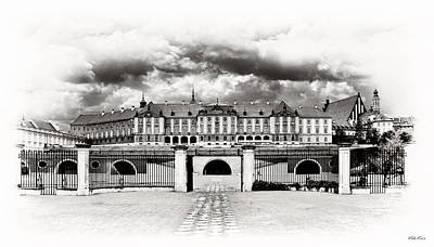 The Royal Castle In Warsaw Original