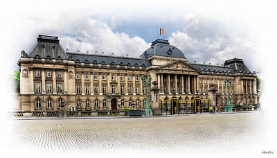 The Royal Palace Of Brussels Original by Viktor Korostynski