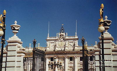 Photograph - The Royal Palace Of Madrid by Barbara Plattenburg