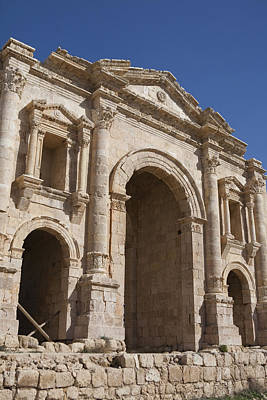 The Ruins Of The Ancient City Of Jerash Art Print by Taylor S. Kennedy