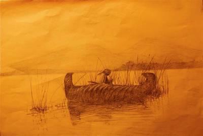The Rush Gatherer Art Print by Ronald Gillis