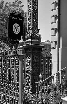 The Rutledge House Sign Print by Steven Ainsworth
