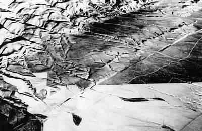 The San Andreas Fault, Running Art Print by Everett