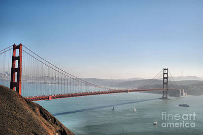 The Sausalito Side Of The Bay Art Print
