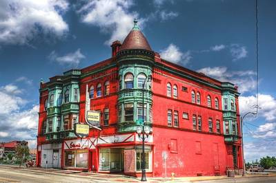 Waukegan Photograph - The Sauter Building by Dan Stone