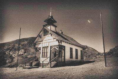 Antique Maps - The School House 3 by Jessica Velasco