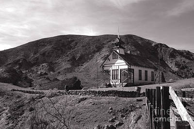 The Schoolhouse In Calico Ghost Town California Art Print