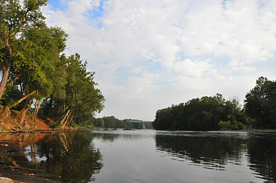 The Schuylkill River At West Conshohocken Art Print by Bill Cannon