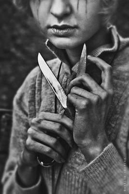 Photograph - The Scissors by Natalia Drepina