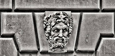 Photograph - The Scowler - Bw by Christopher Holmes