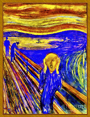Painting - The Scream by Vidka Art
