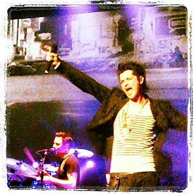Concert Photograph - The Script In New Orleans by Rebecca Shinners