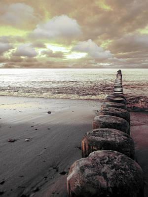 Photograph - The Sea by Florin Birjoveanu