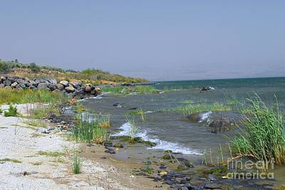 Digital Art - The Sea Of Galilee by Eva Kaufman