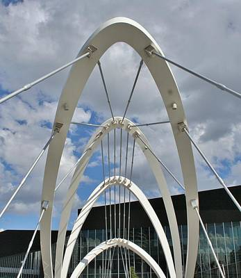 Photograph - The Seafarers Bridge Structure by Kelly Nicodemus-Miller