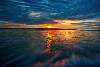 The Seascape Huahin Thailand Art Print by Arthit Somsakul