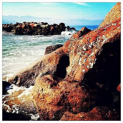 Rock Wall Art - Photograph - The Seashore by Natasha Marco
