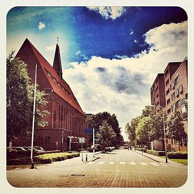 Dutch Photograph - The Second #church In Venray by Wilbert Claessens
