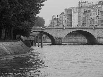 Photograph - The Seine by Diane Height