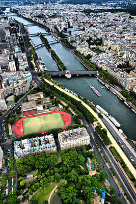 Photograph - The Seine River by Edward Myers
