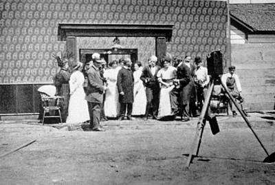 The Selig Studio, First Film Studio Art Print by Everett