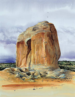 Painting - The Sentinel by Richard Mordecki