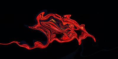 The Serpent Rose Art Print by James Mancini Heath