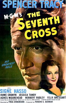 The Seventh Cross, Spencer Tracy, Signe Art Print