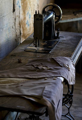 Photograph - The Sewing Machine by Lorraine Devon Wilke