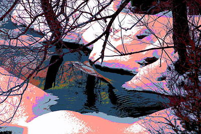 The Shades Of Winter Art Print by Shirley Mailloux