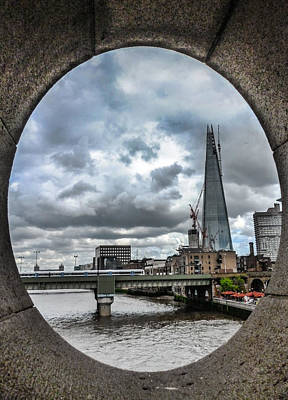 London Skyline Photograph - The Shard London by Dawn OConnor