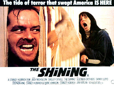 Films By Stanley Kubrick Photograph - The Shining, Jack Nicholson, Shelley by Everett